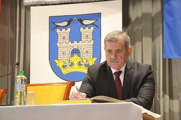 Michalovský primátor Viliam Zahorčák.