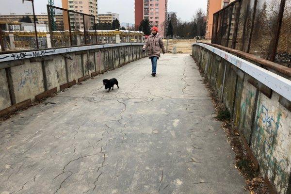 Most medzi Solinkami a Hlinami.