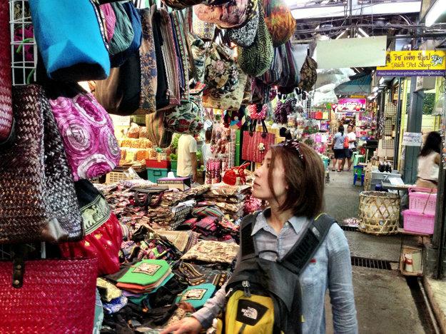 Chatuchak weekend market.