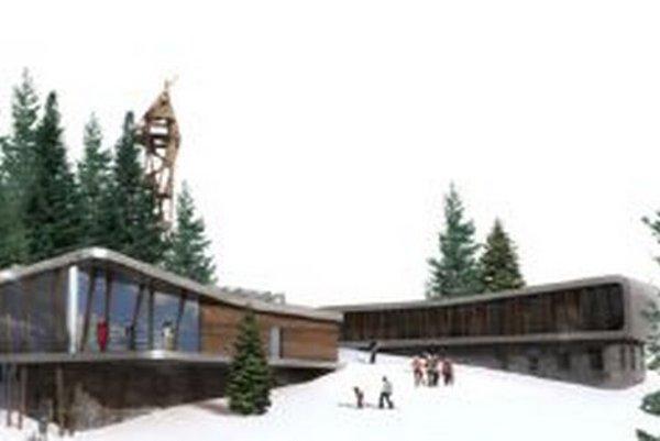 Vrcholová stanica má byť vnadmorskej výške 1260 metrov nad morom. Vjej blízkosti chcú postaviť vyhliadkovú vežu.