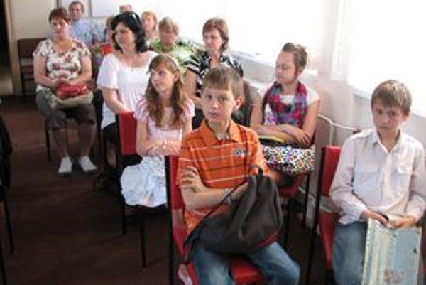 Počet recitátorov na Šmarhanovskej Marikovej z roka na rok rastie.