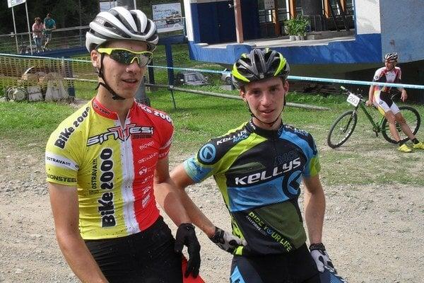 Dvaja najlepší juniori, Michal Zeťák aMatej Ulík.