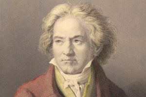 Ludwig van Beethoven sa narodil v decemvbri 1770 a zomrel 26. marca 1827.