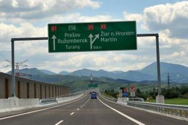 Rainer Ribing pochvaľoval diaľničný úsek Dubná skala - Turany.