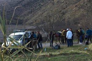 Miesto nálezu mŕtvych turistiek v pohorí Veľký Atlas.