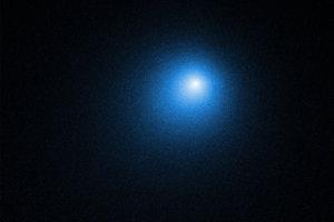 Hubble zachytil pohľad na kométu Wirtanen 13. decembra 2018. K Zemi sa vrátila po viac ako piatich rokoch.
