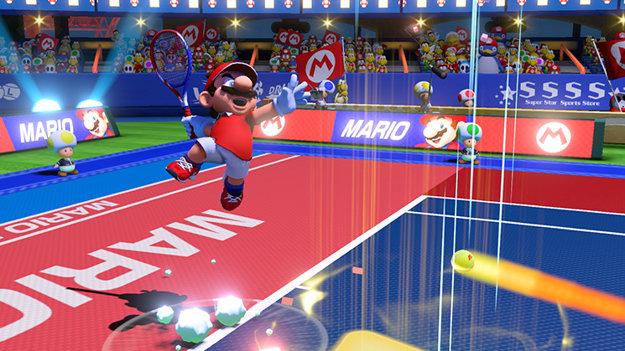 Mario Tennis Aces.