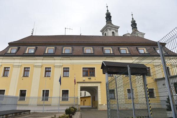 Budova ilavskej väznice.