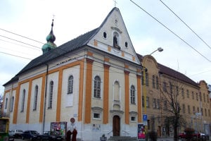 Kostole svätej Barbory postavili františkáni v Žiline spolu s kláštorom