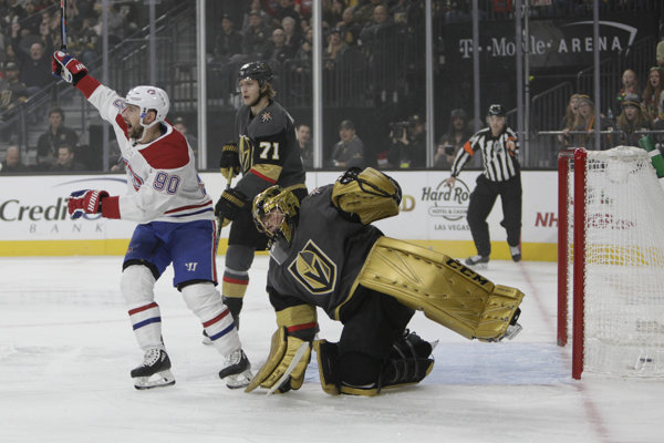 Hokejista Montrealu Tomáš Tatar sa po návrate do Vegas blysol dvoma asistenciami.