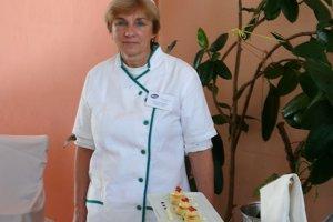 Miroslava Obuchová, majsterka odbornej prípravy kuchárov v Strednej škole obchodu a služieb v Martine.