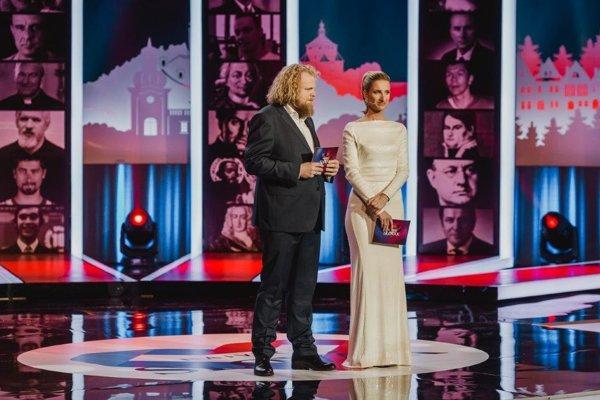 Moderátorka gala večera Najväčší Slovák Adela Banášová sa umiestnila na 38. priečke.
