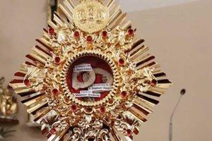 Relikviár svätých košických mučeníkov.