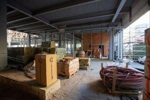 Rekonštrukcia sídla Slovenskej národnej galérie v hlavnom meste sa predĺži.