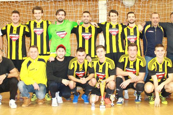 Prvé miesto na turnaji patrilo hráčom MŠK Želiezovce.