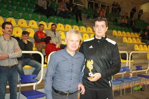 Najlepší brankár: František Horniak (Čajkov).