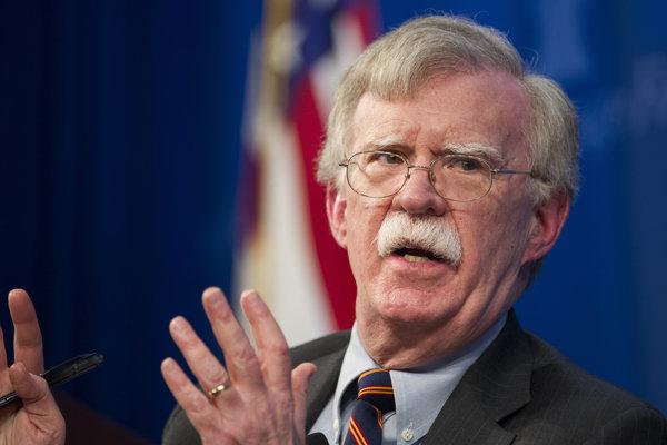 Bezpečnostný poradca amerického prezidenta Donalda Trumpa John Bolton.