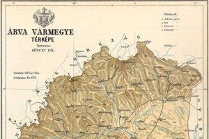 Oravská župa, 1910