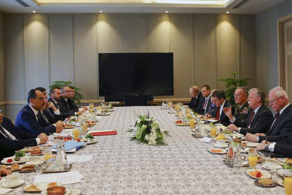 Rokovania Turecka a USA prebehli bez účasti prezidenta Erdogana.