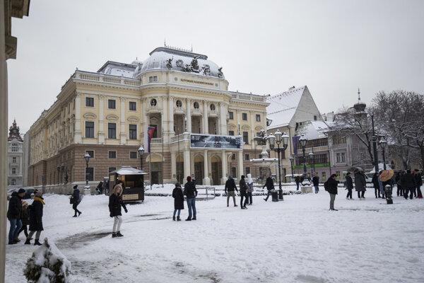 Budova SND v Bratislave.