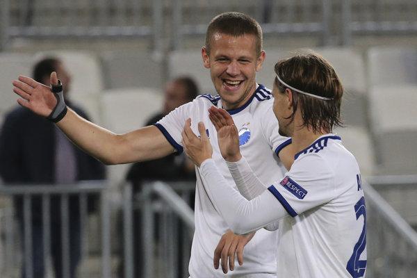 Denis Vavro (vľavo) v drese FC Kodaň.