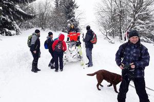 V sedemročnej histórii prechodu bola tento rok najštedrejšia snehová nádielka.