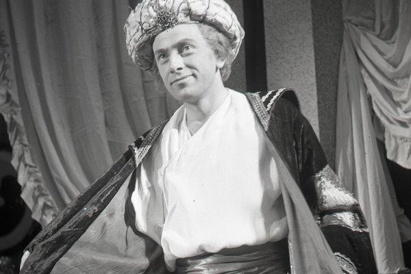 Herec Karol Machata zažiaril v divadle, rozhlase aj filme.