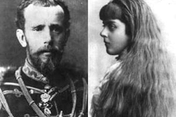 Korunný princ Rudolf a jeho mladučká milenka baronesa Mary Vetserová