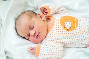 Dominika Elischerová (3900 g, 50 cm) sa narodila 6. januára Michaele a Petrovi z Častkoviec.