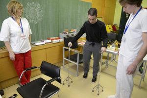 Fyzioterapia. Ilustračné foto