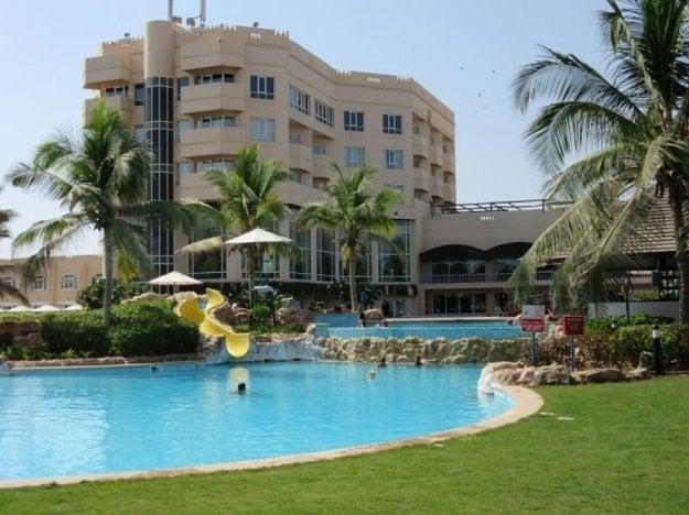 HotelCrowne Plaza Resort Salalah 5*, Omán.