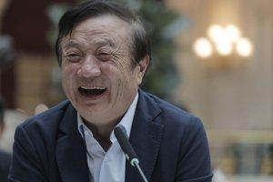 Zakladateľ a generálny riaditeľ firmy Huawei Žen Čeng-fej.