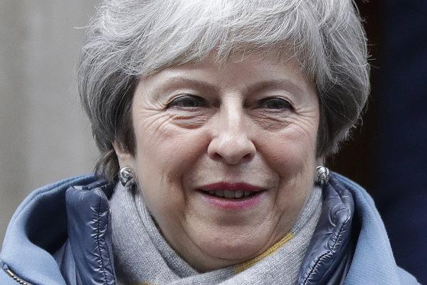 Premiérka Theresa Mayová.