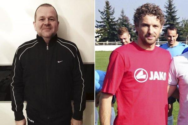 Marián Felix (vľavo) sa stal novým predsedom klubu. Miloš Lipovský odišiel zVáhoviec prevzal mužstvo Nededu.