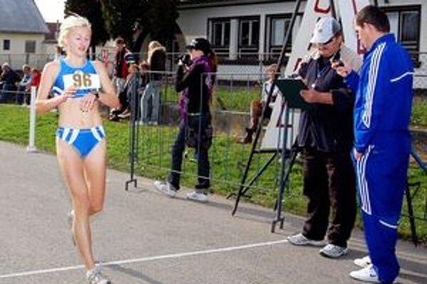 Janka Zatlukalová vytvorila nový traťový rekord.