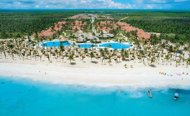 Dovolenkový rezort, Dominikánska republika.