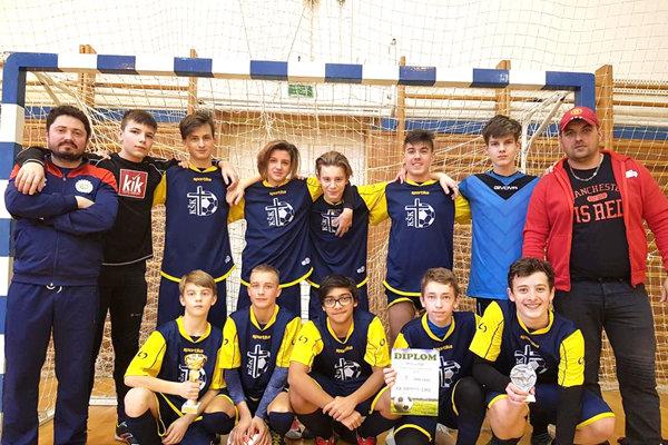 Žiaci KŠK Levice sa stali víťazom turnaja vo Vrábloch.