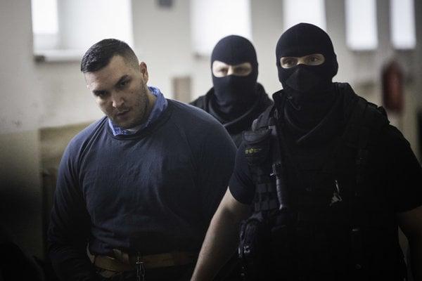 Juraj Hossu na súde.