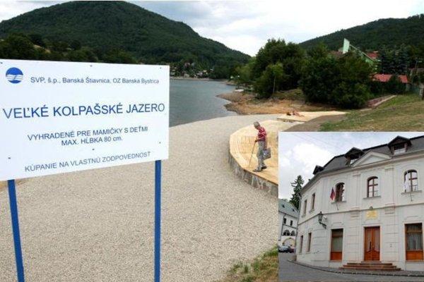 Slovenský vodohospodársky podnik spájajú s Banskou Štiavnicou najmä tajchy.