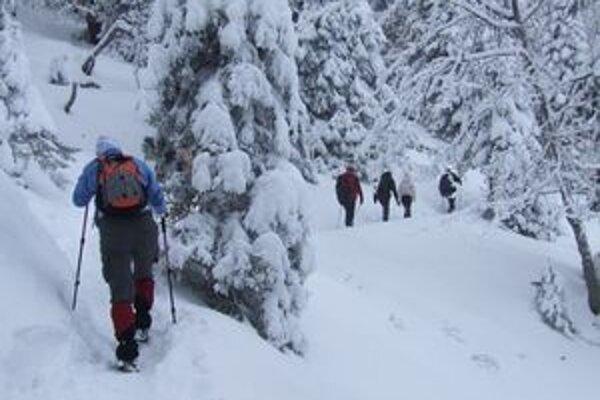 Turistov do liptovského regiónu lákajú nielen zjazdovky, ale aj zimné turistické trasy.