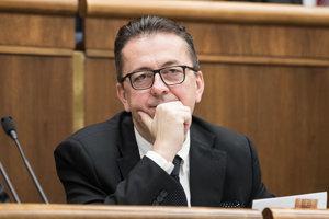 Podpredseda parlamentu Martin Glváč.