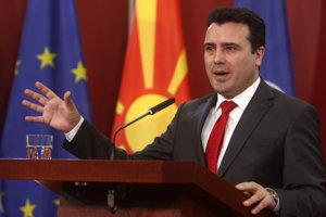 Macedónsky premiér Zoran Zaev.