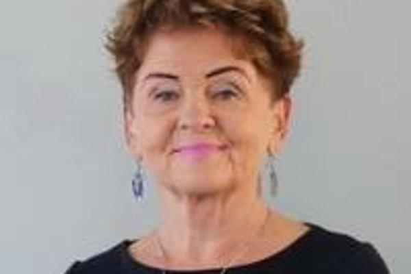 Irena Kováčiková, predsedníčka komisie.