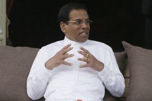 Prezident Srí Lanky Maithrípála Siriséna.
