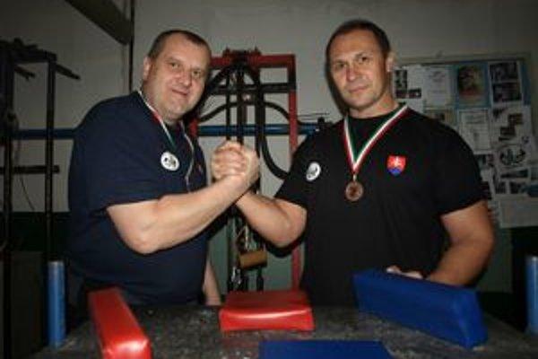 Pavol Baka a Ján Labaj súťažili v kategórii masters.