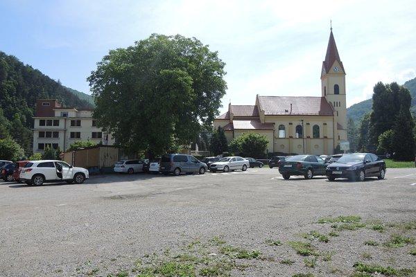 Zóna v centre Teplíc.