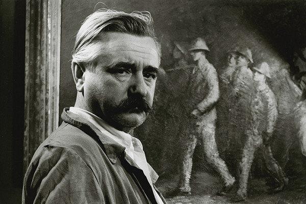 Ján Mudroch bol významný maliar.