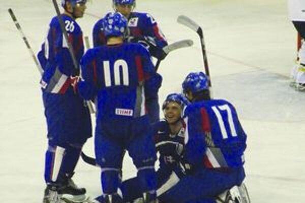 Dva góly proti Fínom Slovákom na druhé miesto nestačili.