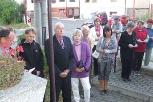 Dôstojne spomínali v Závažnej Porube na 68. výročie Slovenského národného povstania.