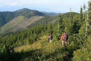 Vo východnej časti nízkotatranského hrebeňa majú turisti problém s orientáciou.